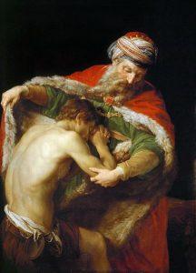 Pompeo Girolamo Batoni: The Return of the Prodigal Son (1773)